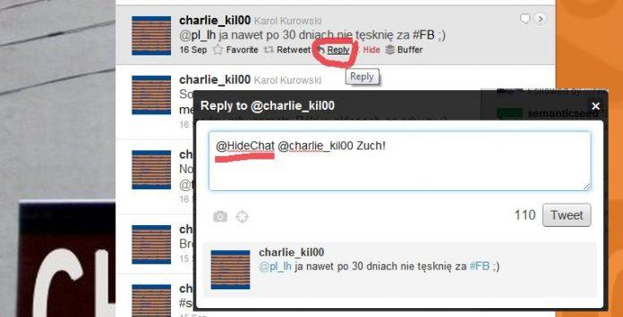 Twitter Jak ukryć przed followersami rozmowy z wybranymi użytkownikami