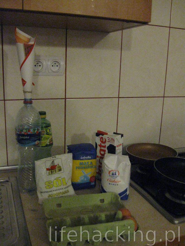 Gotujemy z LH naleśniki w butelce - 2