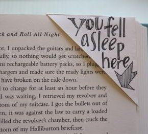 Coś dla milusińskich - ręcznie robione zakładki do książek - zakładka wycięta z koperty