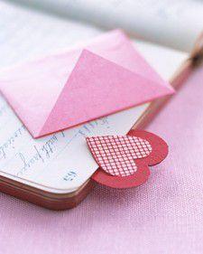 Coś dla milusińskich - ręcznie robione zakładki do książek - zakładka z koperty
