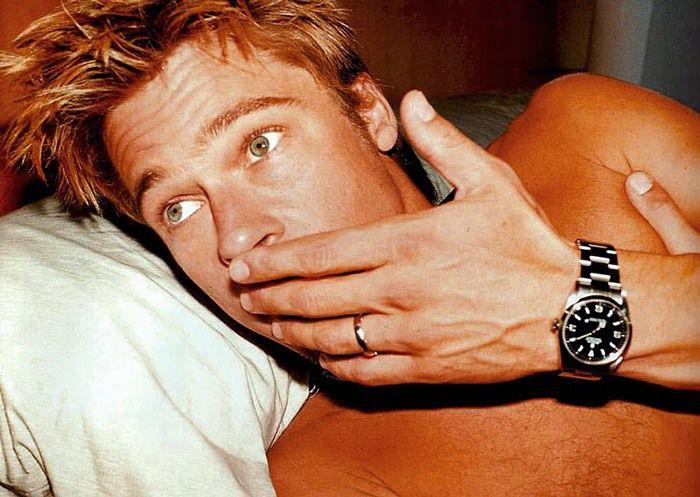 Jak wybrać zegarek - Brad Pitt