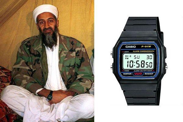 Jak wybrać zegarek - Osama ben Laden