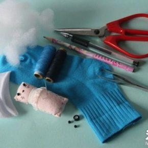 1 Niech żyje kreatywność! Jak (łatwo) zrobić zabawkę ze starej skarpety