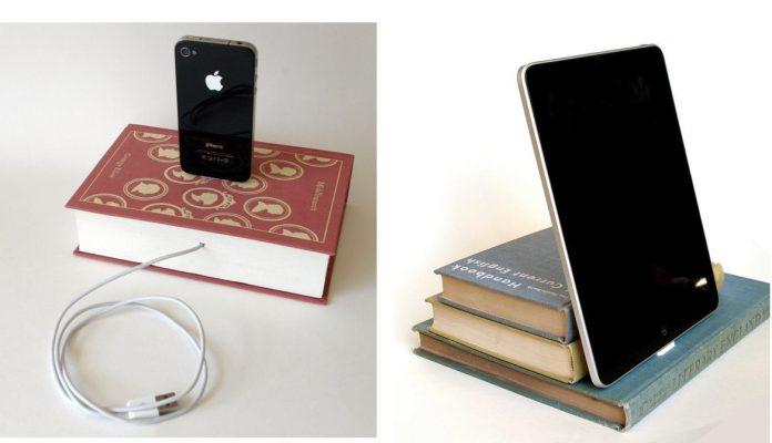 Kreatywna stacja dokująca - podładuj iPad, iPhone itd