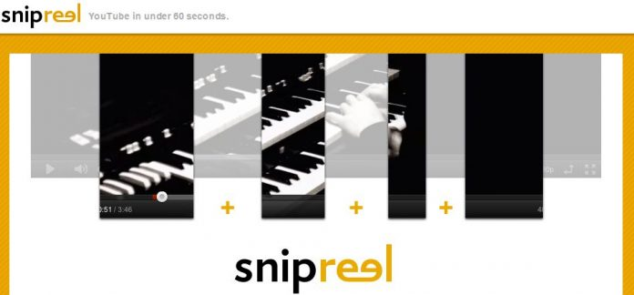 Snipreel - YouTube in under 60 seconds