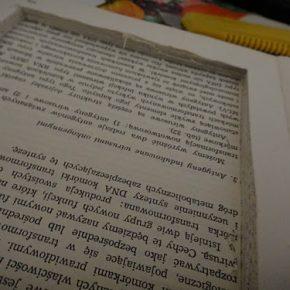 Jak zrobić ze starej książki okładkę do czytnika Kindle - 1
