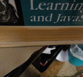Jak zrobić ze starej książki okładkę do czytnika Kindle - 5