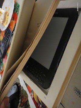 Jak zrobić ze starej książki okładkę do czytnika Kindle - 3