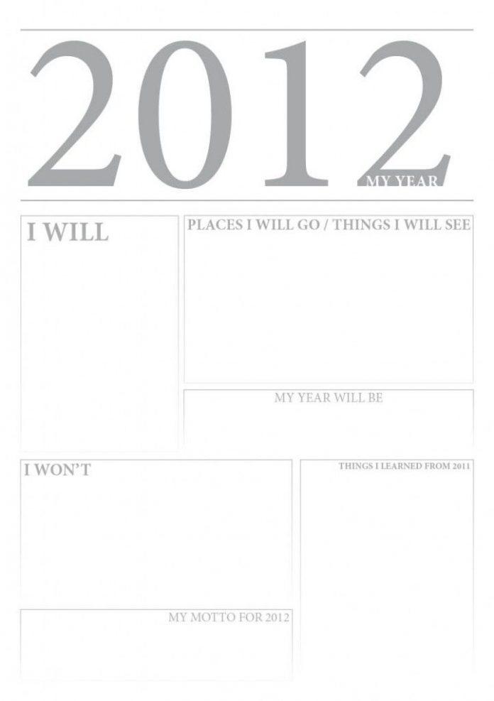 Tworzymy własny manifest na 2012 rok