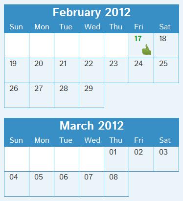 Jak wypracować nowy nawyk - kalendarz postępów