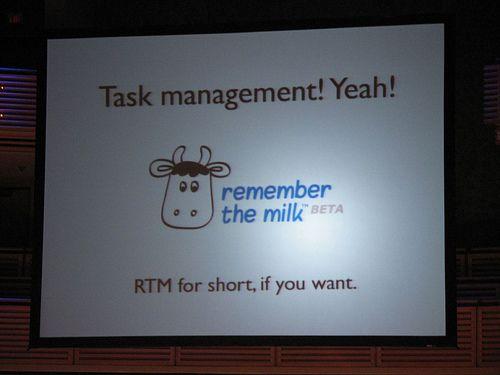 Uporządkuj zadania z serwisem Remember the Milk (Task management RTM)