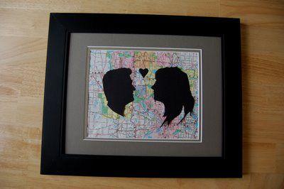Prezent dla ukochanej osoby - konturowa kartka ze wspólnego zdjęcia - 7