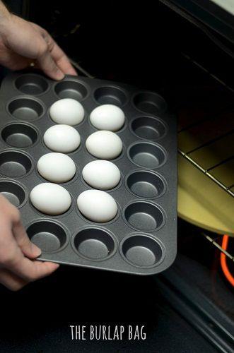 Jak ugotować jajko na twardo? Wybierz piekarnik zamiast garnka!