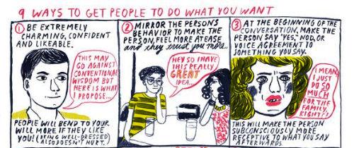 9 sposobów na zmuszenie ludzi do robienia tego, co chcesz 0
