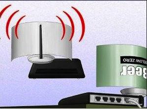 Metalowa puszka doskonale wzmacnia sygnał wi-fi