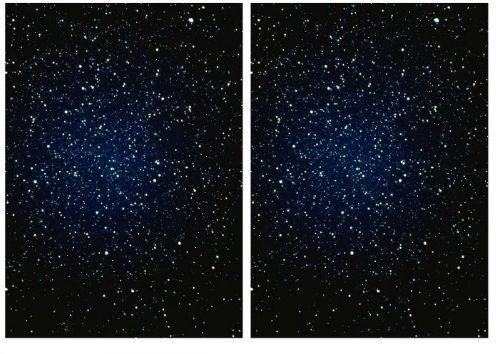 Na jednym z poniższych obrazków brakuje jednej gwiazdy