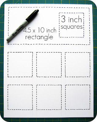Pomysł - Kontrola nad celami z DIY kalendarzem Post it - 2