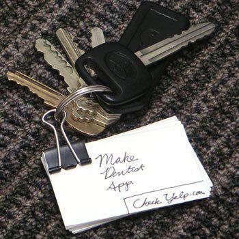 do najprostszej listy to-do wystarczy klips biurowy, parę kartek i kółko na klucze.