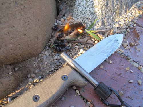 Tampon jako nowy scyzoryk szwajcarski - Zastosowanie nr 3: rozpałka do ogniska/grilla - 2