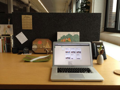 6. Miejsca pracy - biurko Jason Fried (37 signals)