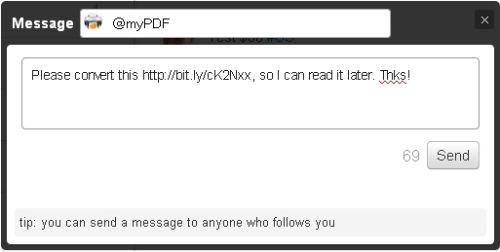 Jak zamienić dowolną stronę w PDF za pomocą tweeta