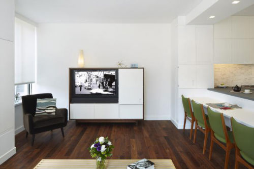 Miejsca pracy - Bufet jako biuro domowe 2