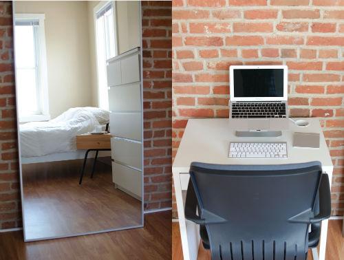 Spacer po mieszkaniu minimalisty