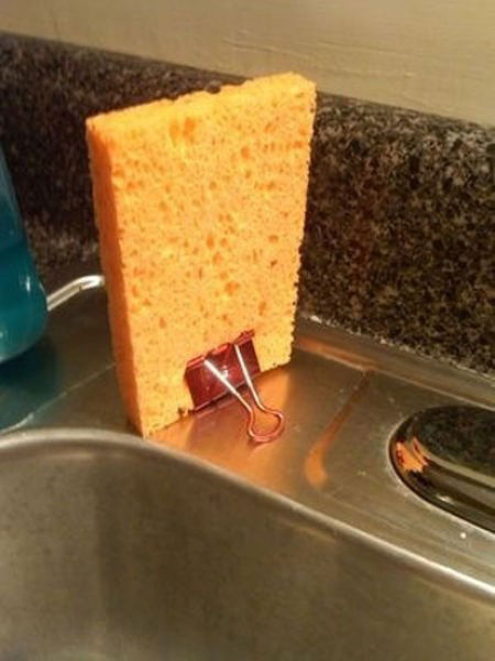 Stojak na gąbkę do mycia naczyń