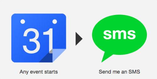 Wysyłanie smsa o każdym zbliżającym się wydarzeniu w Kalendarzu Google