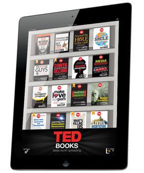 Została wydana aplikacja TED Books