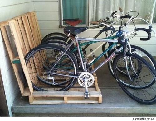 10. Stojak na rowery