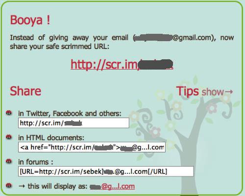 Możemy też używać takiego skróconego adresu w dowolnym serwisie społecznościowym, dokumentach HTML oraz na forach