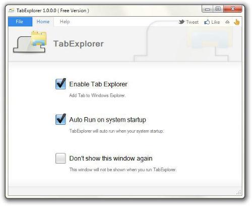 TabExplorer pozwala na tworzenie wielu zakładek w oknie Windows Explorera - 2
