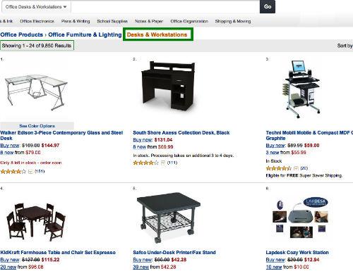 Nas interesują meble biurowe, a konkretnie biurka