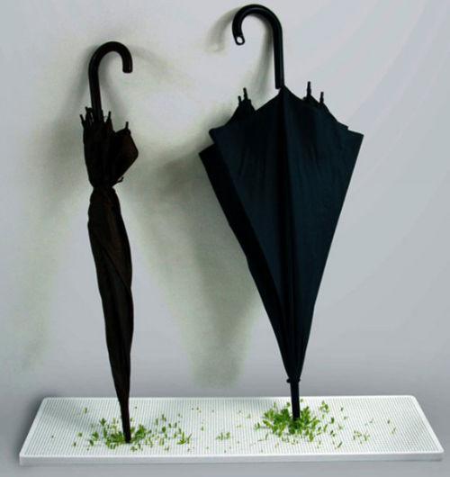 Zielona podstawka pod parasol - 2