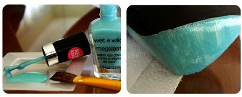 Kolorowe podeszwy szpilek w warunkach domowych - poradnik - 4
