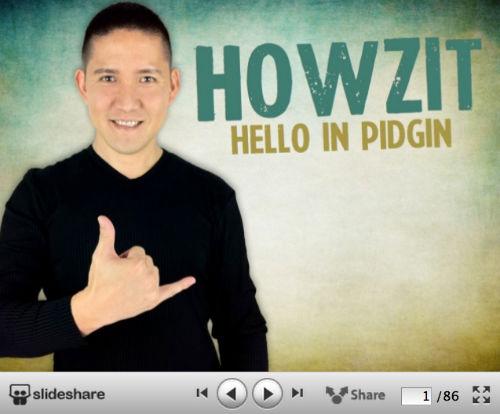 10 kreatywnych wizualnych CV od SlideShare - Howzit. The Story of Cory – [Visual Resume]