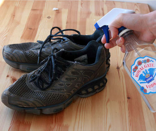 9. Usuwanie zapachu z butów