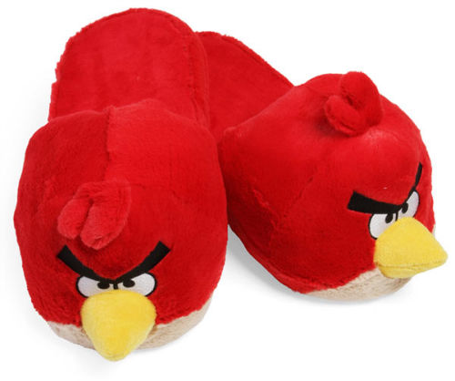 Kapcie w stylu Geek - Angry Birds