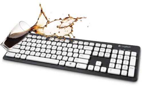 Wodoodporna klawiatura Logitech Washable Keyboard K310