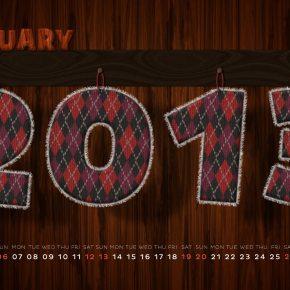 21 styczniowych tapet na świeży początek 2013 roku