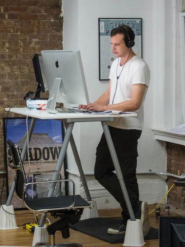 Studium przypadku - GlaxoSmithKline wymienia krzesła biurowe na bieżnie
