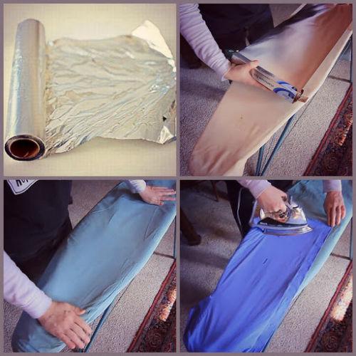 Mała modyfikacja- jak mieć ubranie wyprasowane w 100 proc. prasując tylko z jednej strony