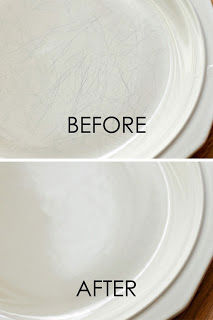 mleczko do czyszczenia i proszek usuną zadrapania z naczyń