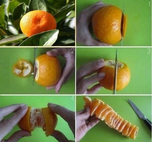Jak łatwo obrać mandarynki