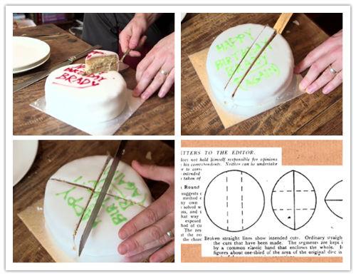 Jak szybko pokroić tort