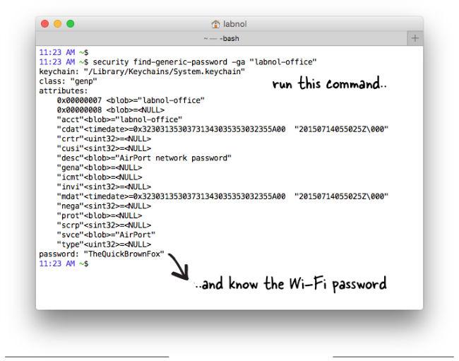 Jak odzyskać i zobaczyć utracone hasło do sieci wifi na MAC OS X
