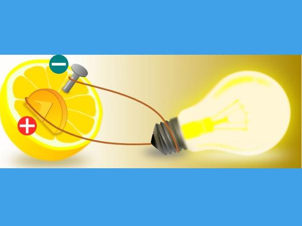 Jak uzyskać prąd z cytryny