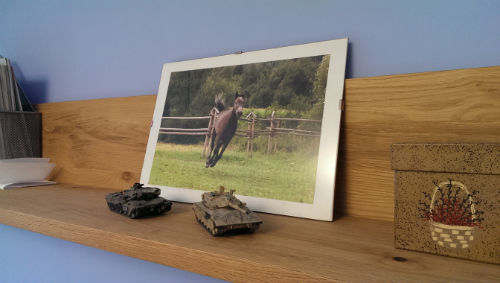 Łatwe wieszanie obrazów i zdjęć PRZED