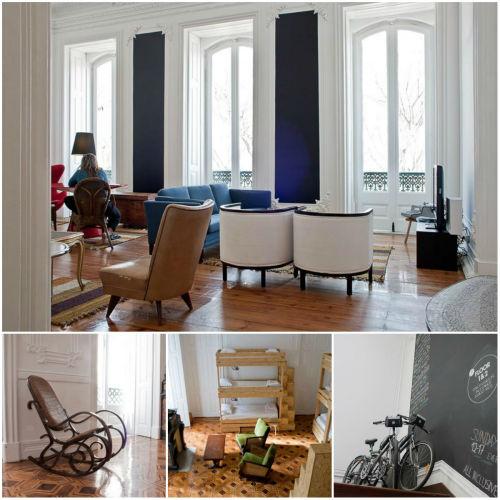 15. The Independente Hostel, Lizbona (Portugalia)